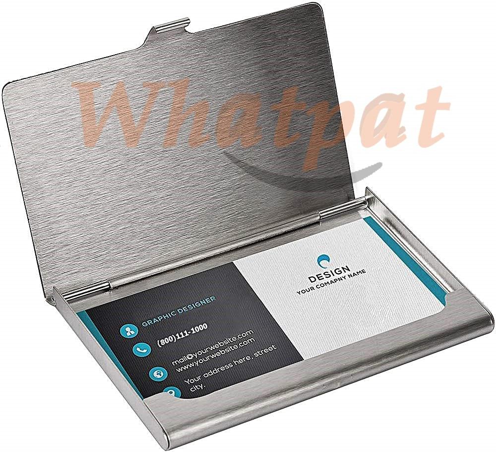 sunplustrade professional metal business card holder